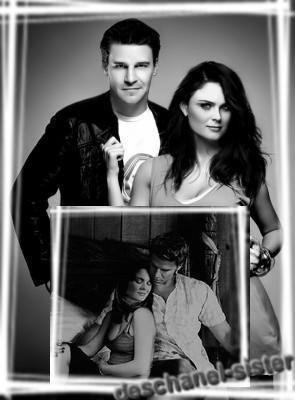 David Boreanaz And Emily Deschannel